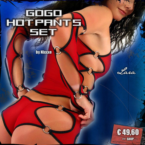 GOGO Hotpants Set